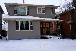 3 Bedroom Spacious Wolseley Duplex For Rent Available Asap Winnipeg Manitoba Image 1 Duplex For Rent House Rental Duplex