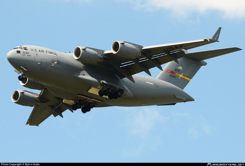 05 5142 Usaf United States Air Force Boeing C 17a Globemaster Iii