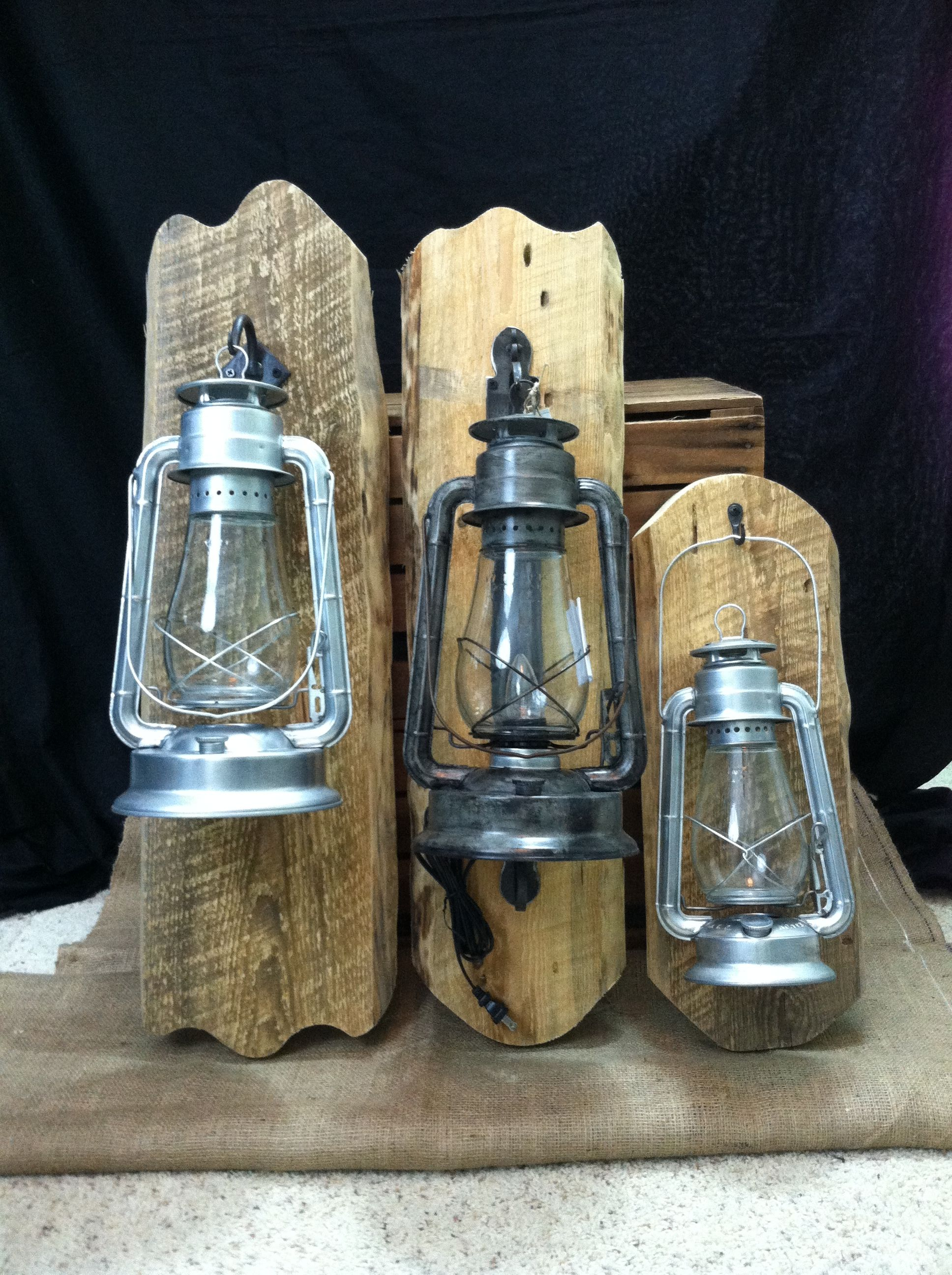 Rustic electric lantern wall fixtures purchase them on etsy http big rock lanterns ltd oil and electric lantern and lamp lighting lantern table lamps ceiling and wall fixtures wagon wheel and single tree arubaitofo Images