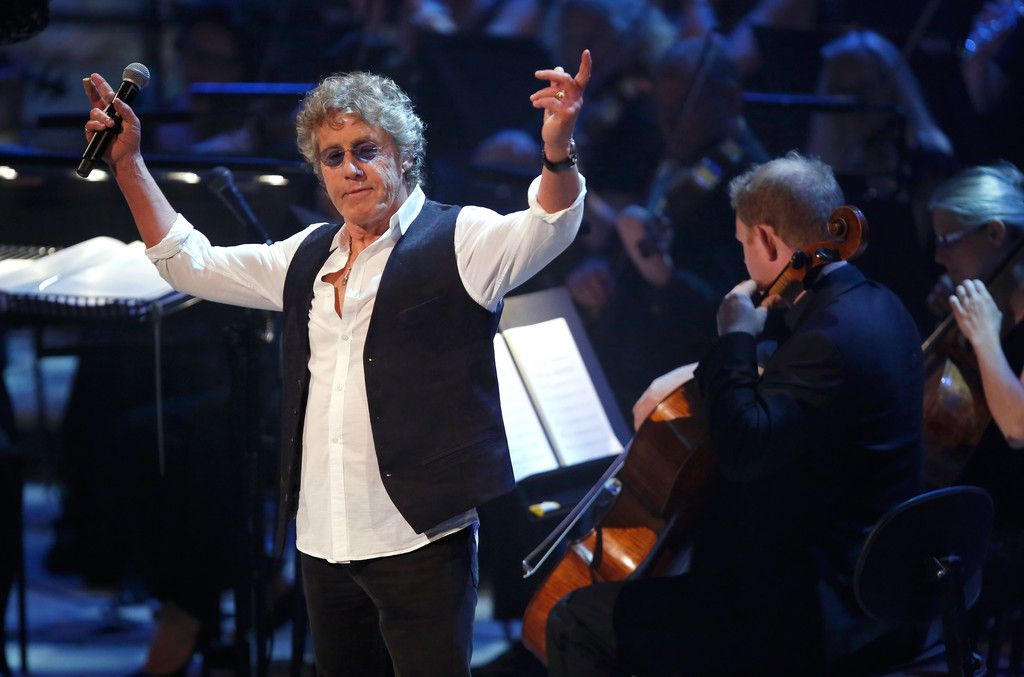 Roger Daltry 12 12 12 concert. The Who was best performer of whole damn thing!