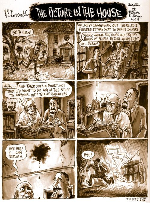 Todays Underwhelming Lovecraft Comic Synopsis Is The Picture In