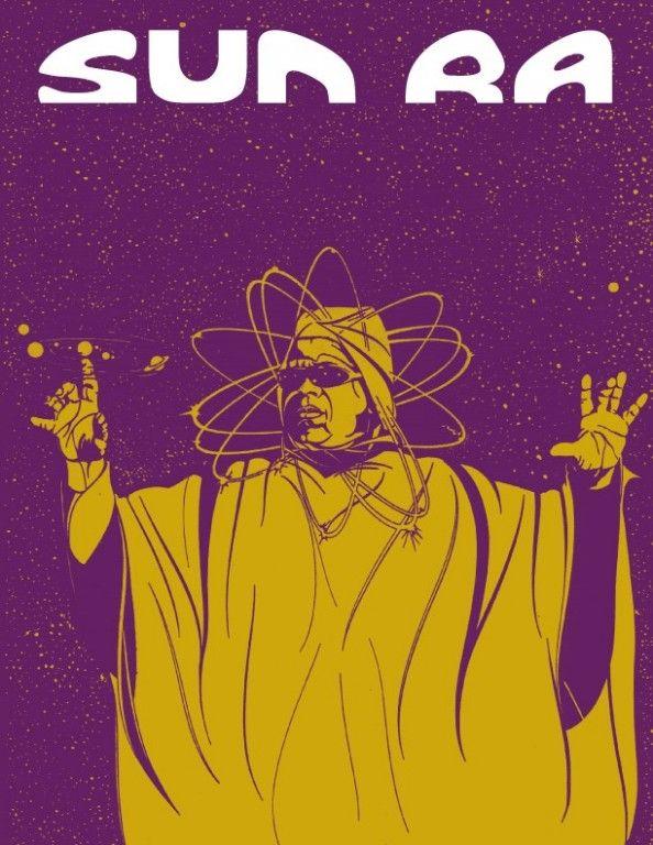 Sun Ra afro-futurism