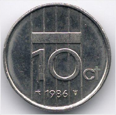 Netherlands 10 Cent 1986 Veiling in de Nederland,Europa (niet of voor €),Munten,Munten & Banknota's Categorie op eBid België