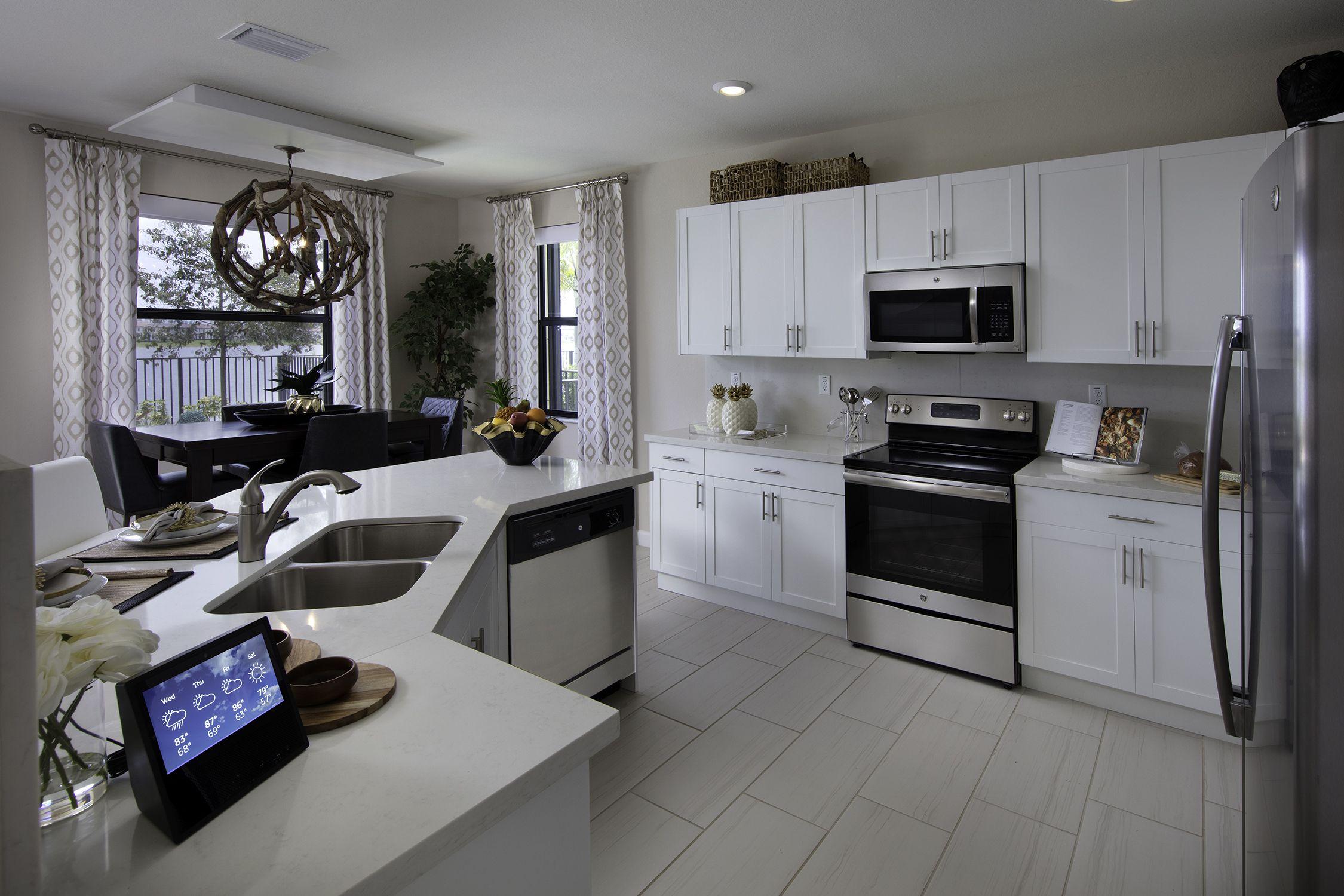 Tag Someone Who Would Love This Kitchen Aquabella Hialeah Fl Kitchen Dreamkitchen I Hotel Kitchen Quartz Kitchen Countertops White Solid Wood Kitchens