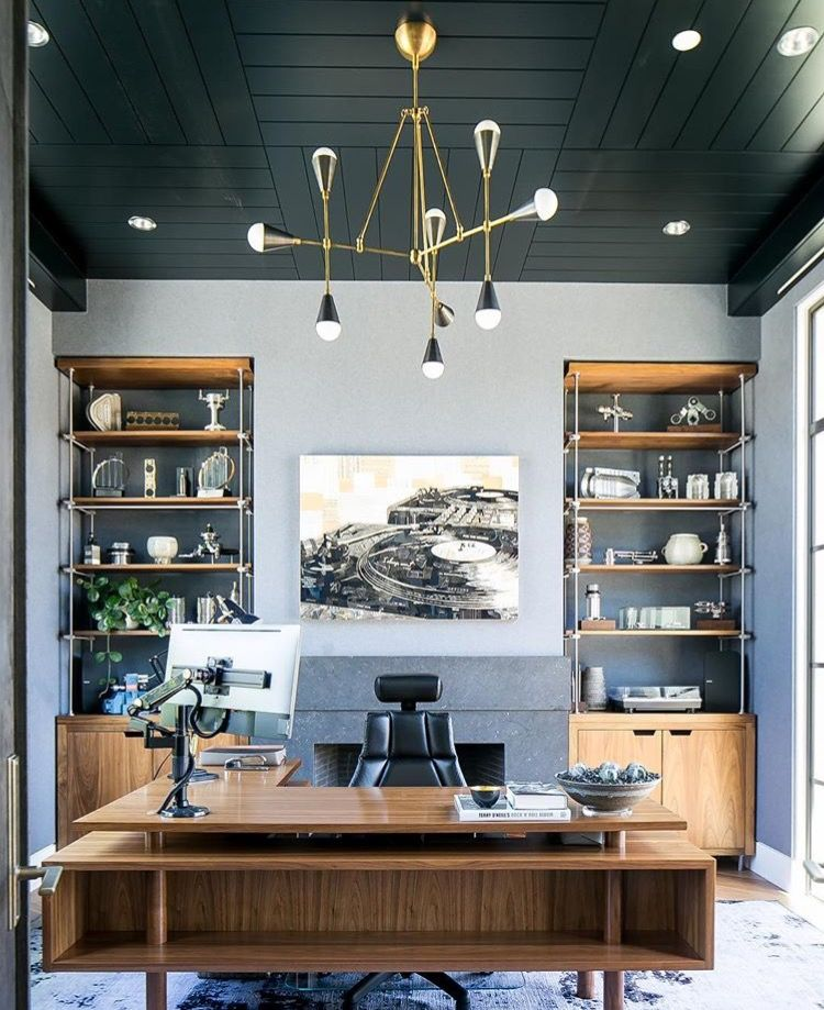 7 Tips For Home Office Lighting Ideas: Home Office & Workspaces In 2019