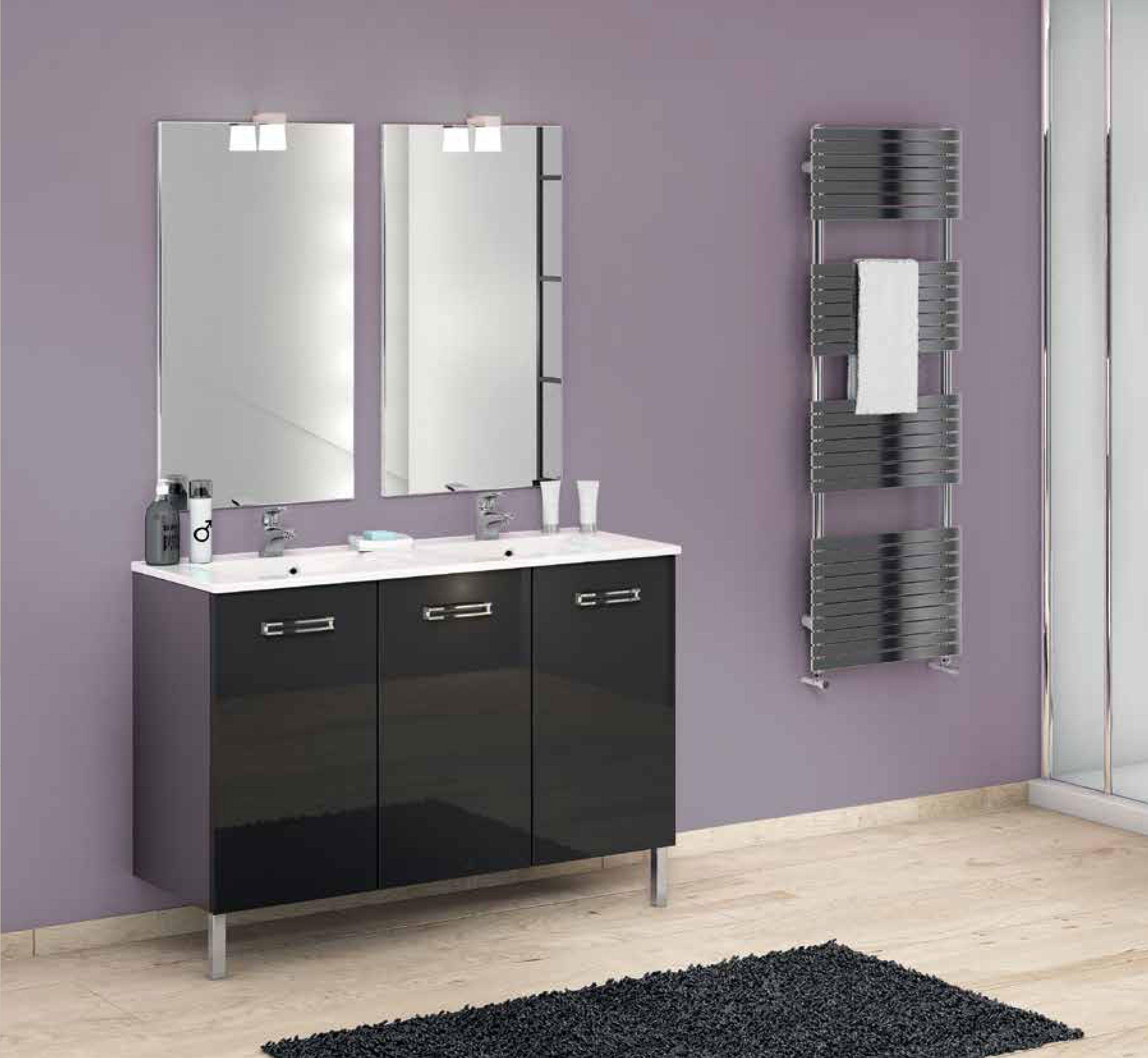 Home depot meuble salle de bain affordable naples blanc for Home depot salle de bain