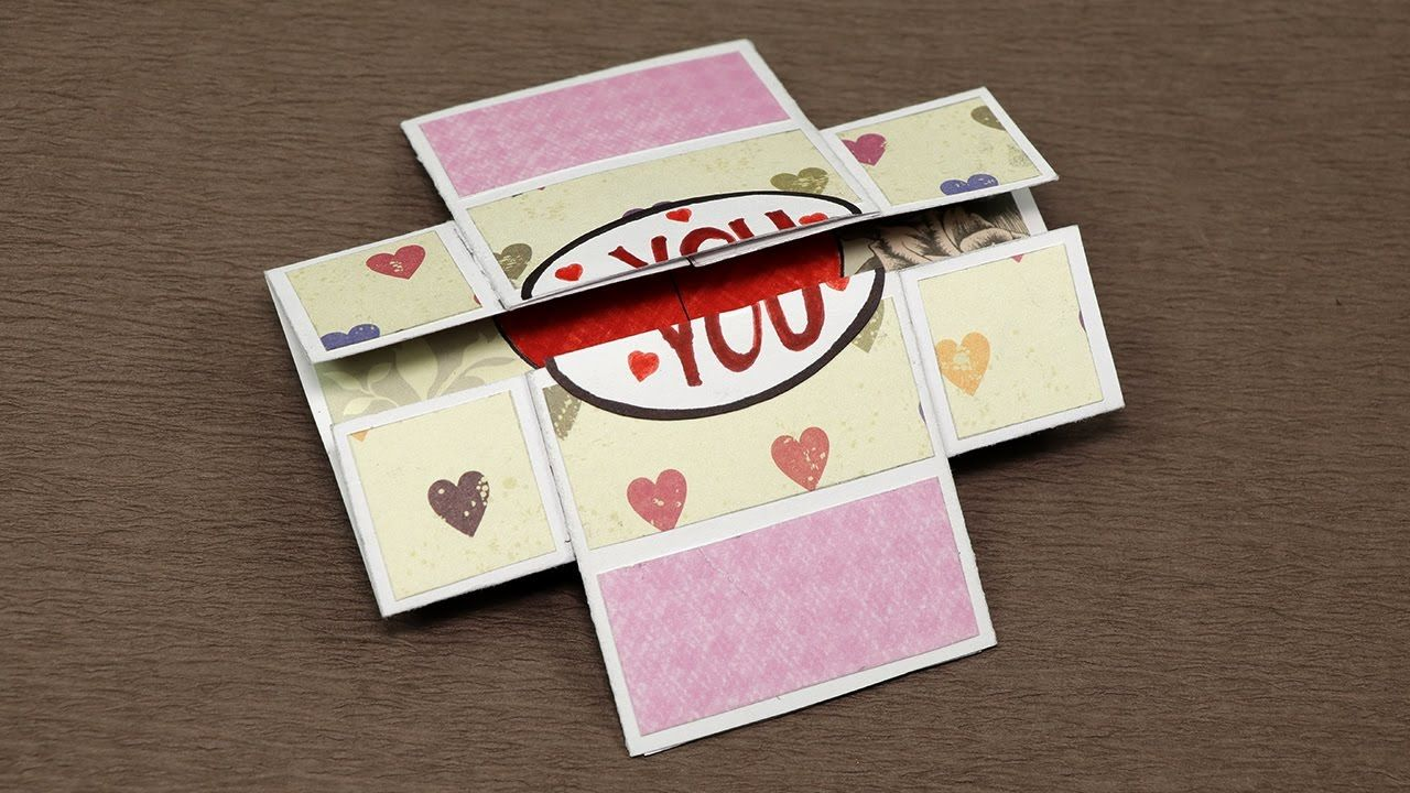 Diy Valentine Day Love Card Never Ending Endless Valentine