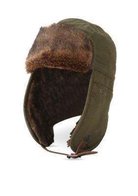 747571d3c9d Original Penguin Waxed Cotton Trapper Hat