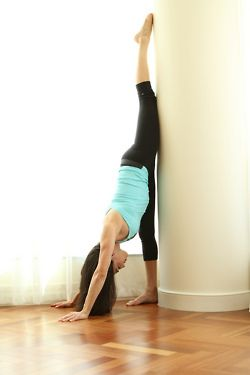 standing split w wallgreat way to practice esp for