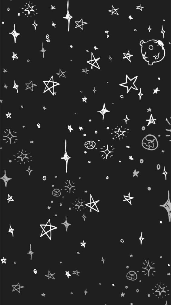 Stary Night Wallpaper Goth Wallpaper Iphone Wallpaper Wallpaper Backgrounds