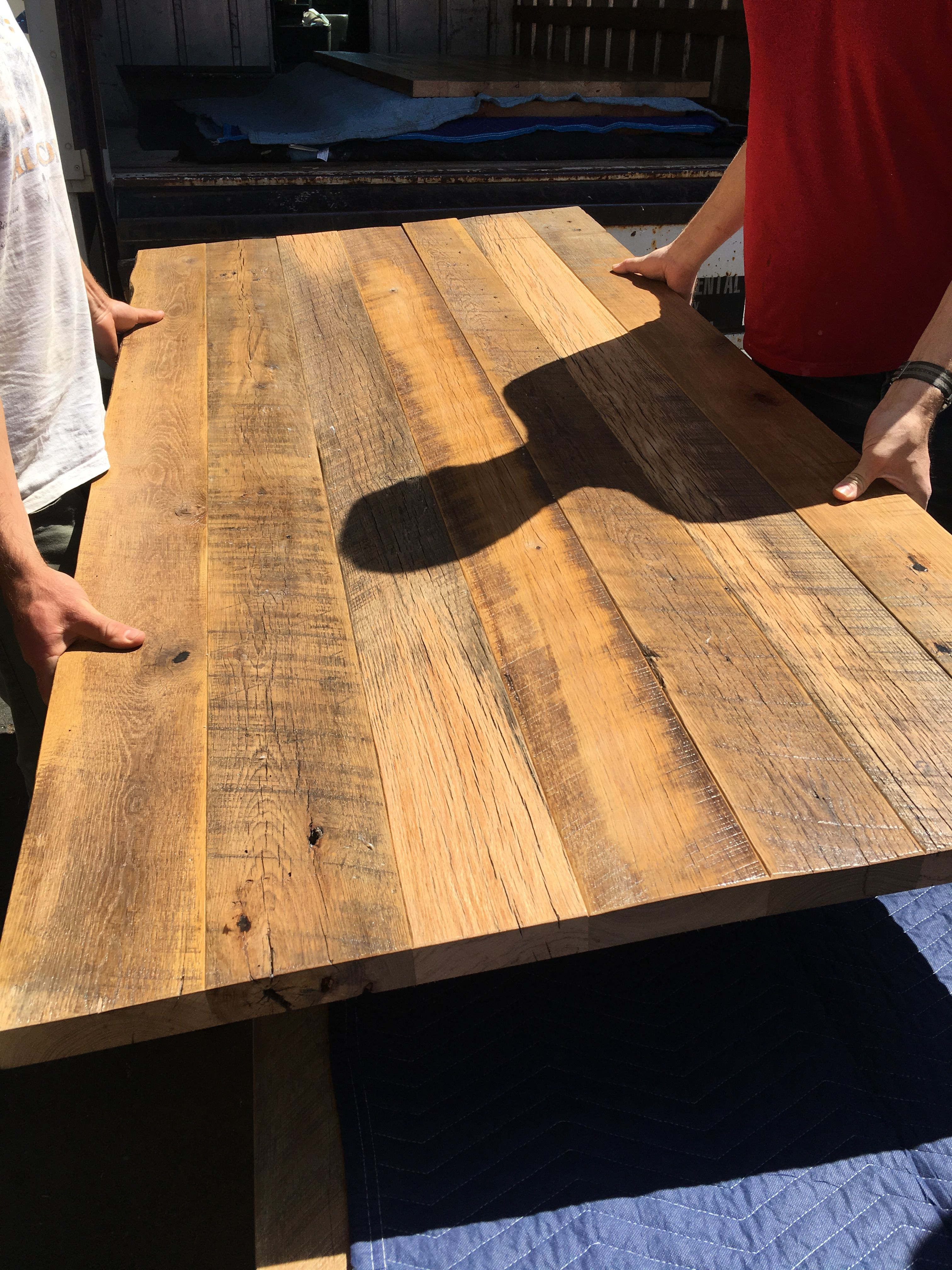Reclaimed Antique Oak Table Top Reclaimed Wood Restaurant