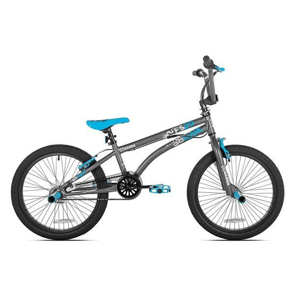 X Games Fs20 Single Speed 20 Inch Wheel Freestyle Trick Bmx Bike Dark Grey Wish Bmx Bikes Bmx Bmx Freestyle