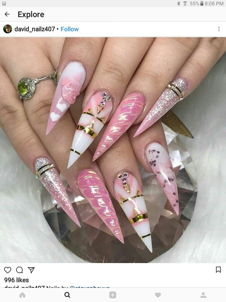 ♕PINTEREST:KIANIA | Kit\'s Claws | Pinterest | Gorgeous nails, Nail ...
