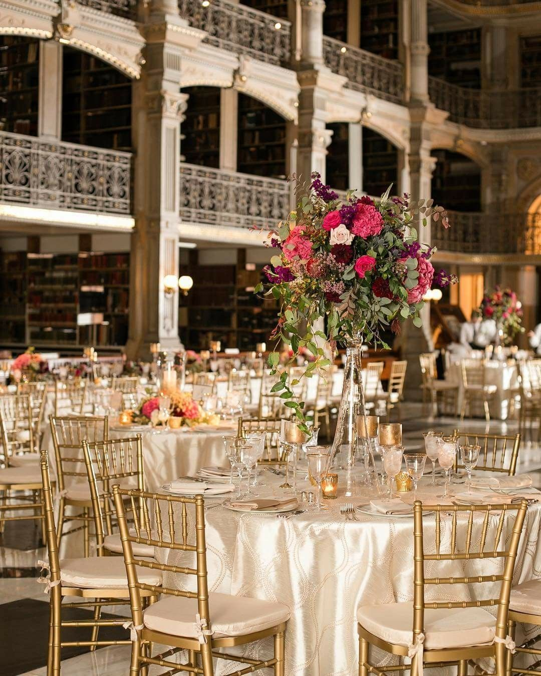 Wedding Ceremony& Reception: The George Peabody Library