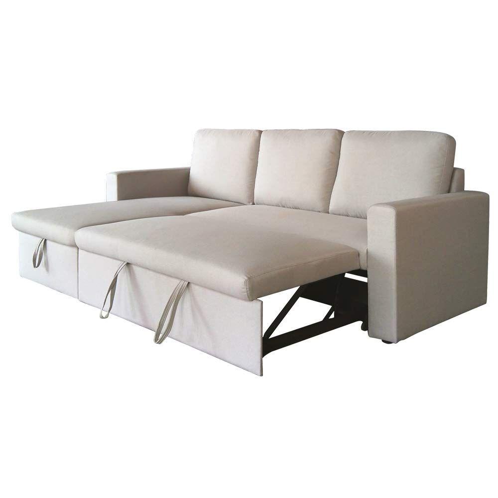 Letti Ad Angolo Con Contenitore.Divano Letto Ad Angolo Reversibile Sofa Bed Home Decor
