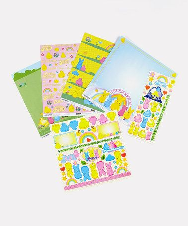 Take a look at this Peeps Scrapbooking Set by Peeps & Company on #zulily today!