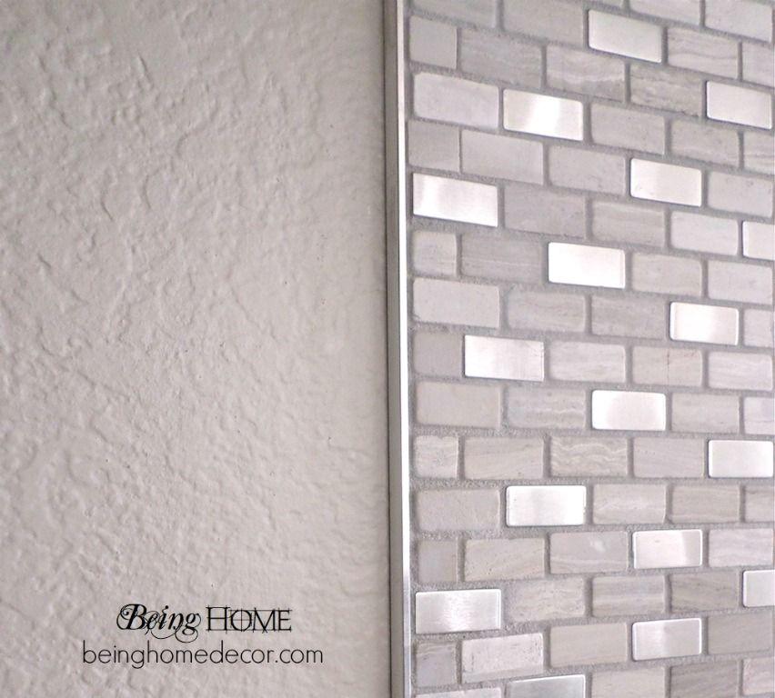 Super Simple DIY Tile Backsplash