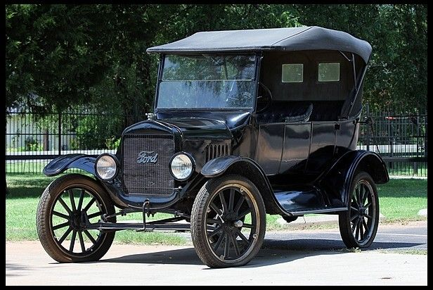 1923 Ford Model T Phaeton : 1923 ford model t touring car - markmcfarlin.com