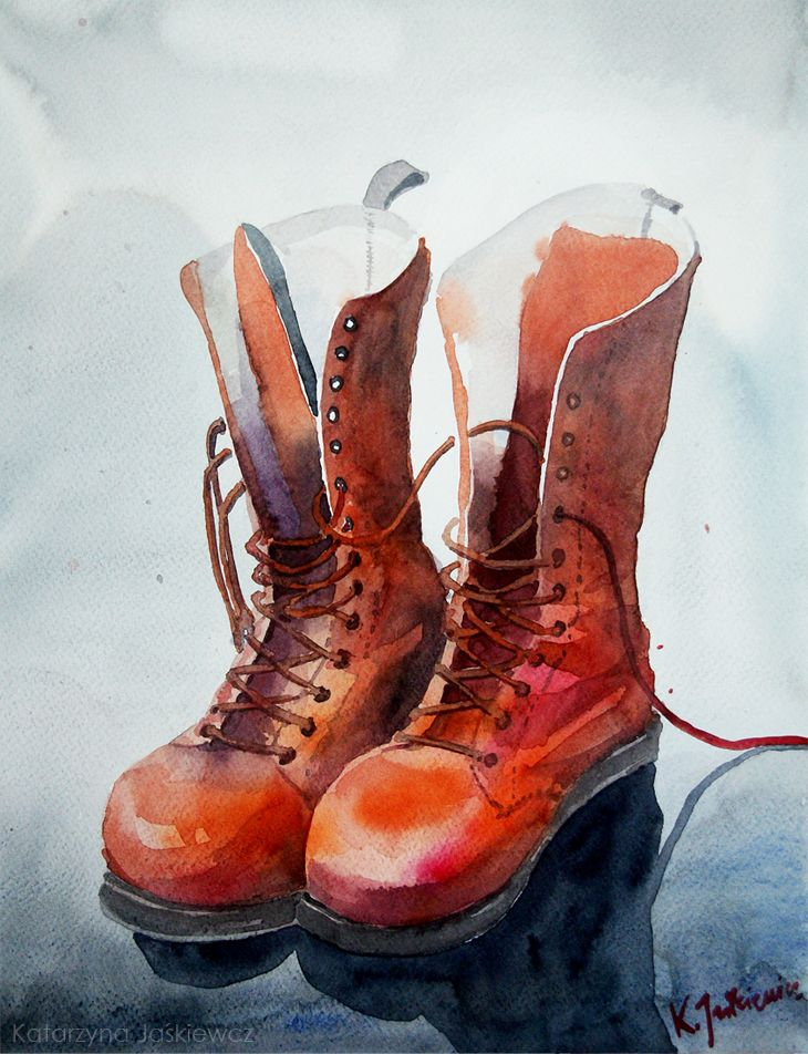 Old Boots New Laces by Carnegriff on DeviantArt