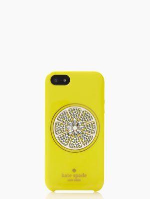buy popular 728ed 2b22f sparkle lemon iphone 5 case - kate spade new york | I want ...