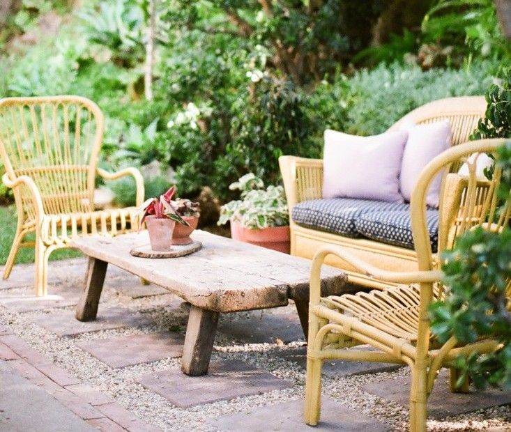 Garden Design Gravel Patio at a cost of about $5 a square foot, a pea gravel patio is easy on