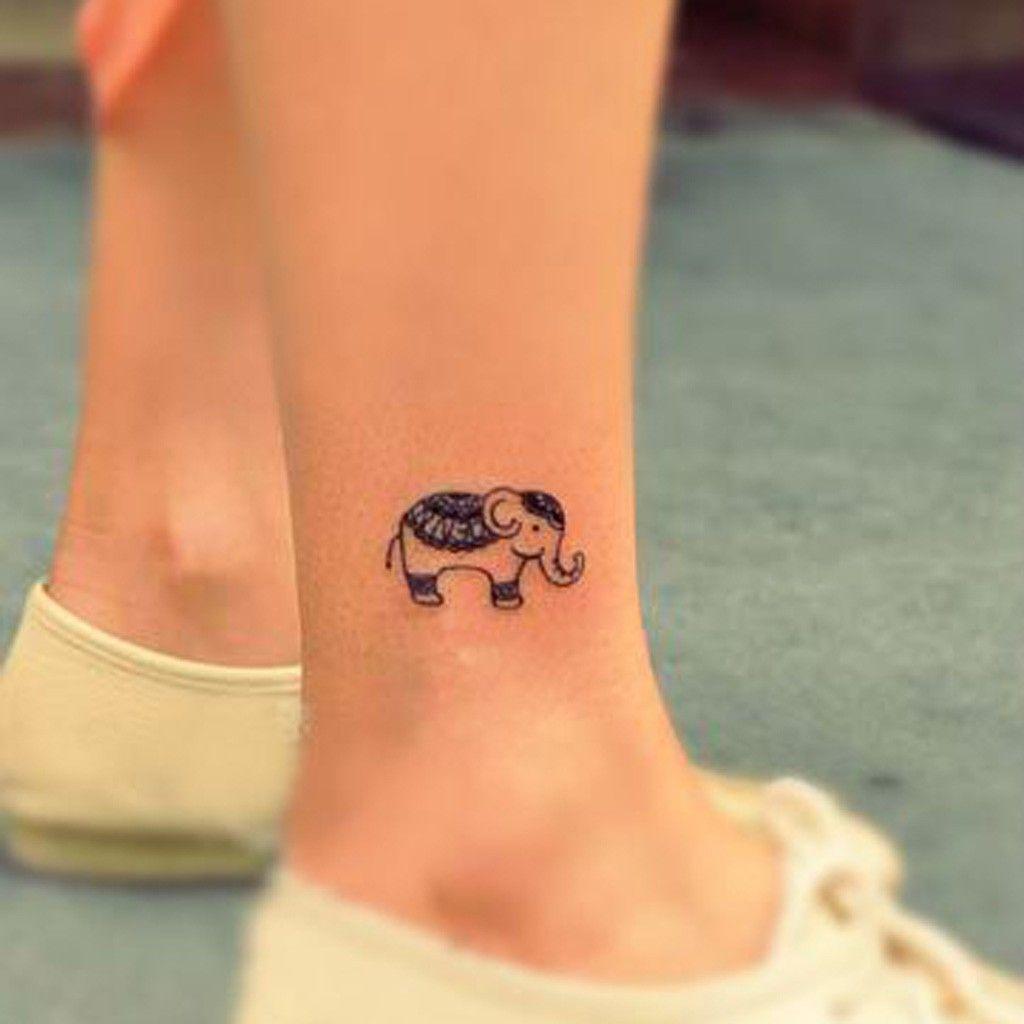 Petit Tatouage Elephant Beauty Full Pinterest Elephant Tattoos
