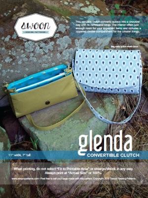 Glenda Convertible Clutch | Sewing - Bags and Wallets | Pinterest