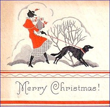 Vintage Christmas Cards | Down to Earth - Photography & Stuff
