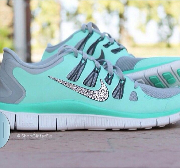 cb4109a9a55c2 I will love anyone that can get me these. Tiffany Blue Nike shoes ...