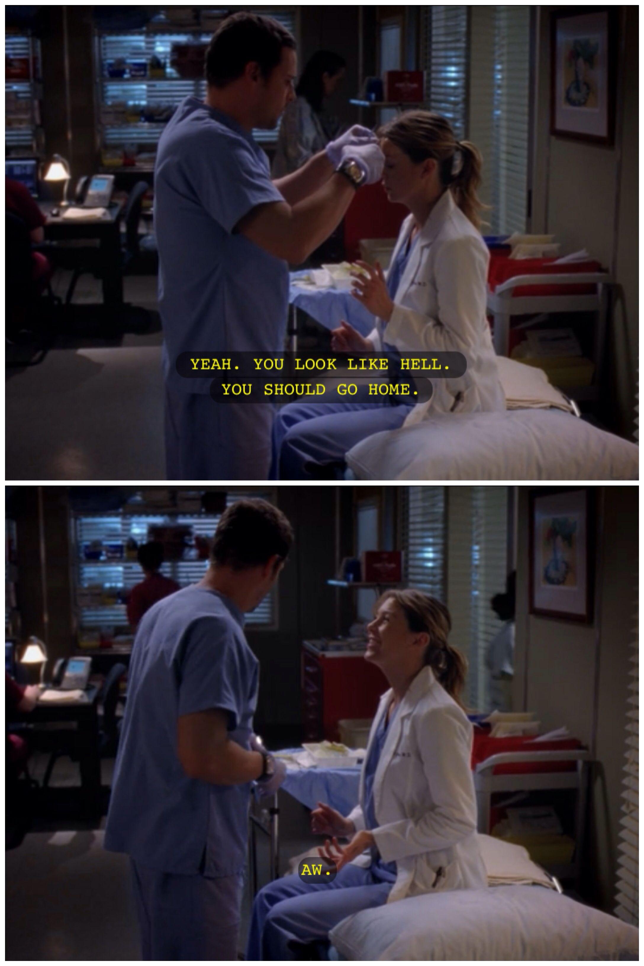 Awww....Mer Alex moment!! LOVE! Grey\'s Anatomy | Grey\'s Anatomy ...