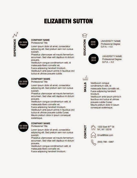 27 Contoh Resume Terbaik ~ Lobak Hangus | resume | Pinterest | Cv ...