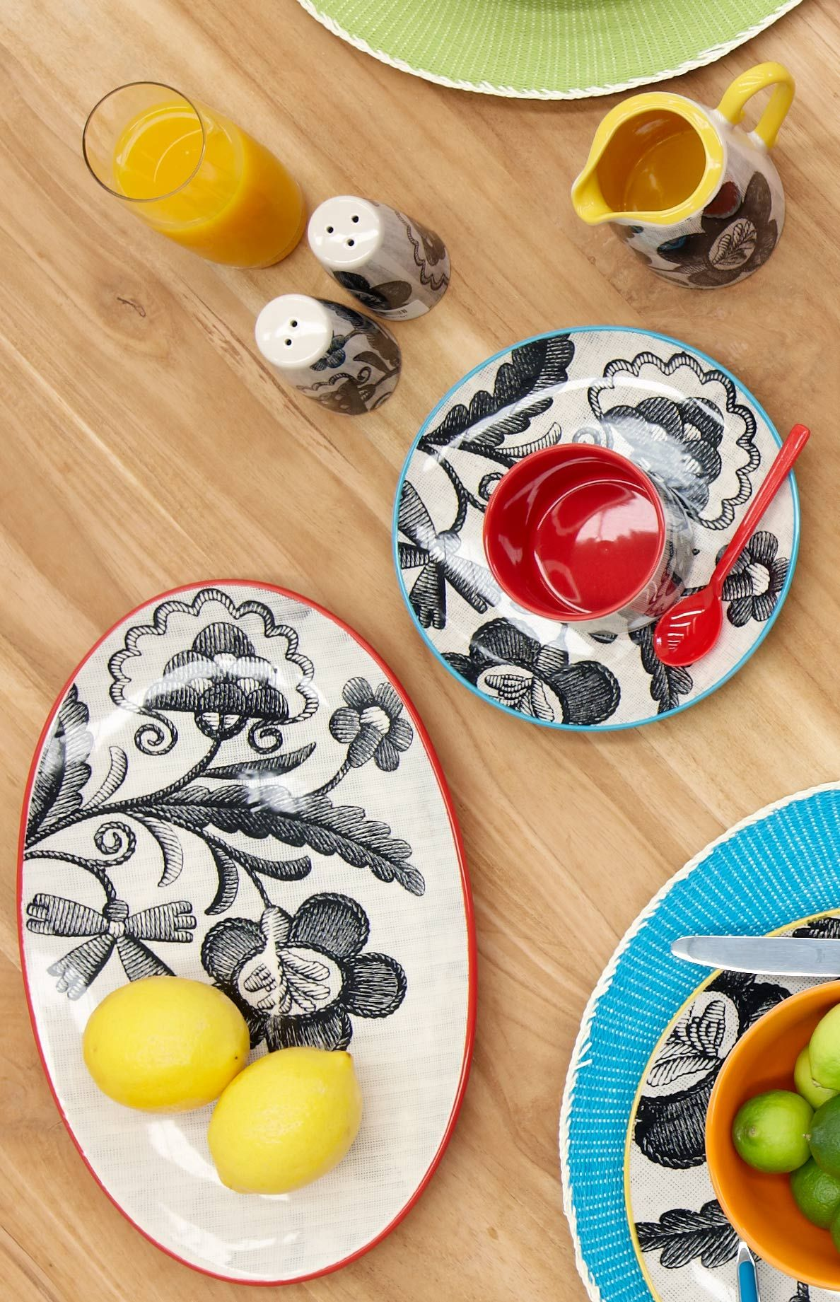 Linea dinnerware fun by Me u0026 My Trend  sc 1 st  Pinterest & Linea dinnerware fun by Me u0026 My Trend | t r e n d // patterned ...