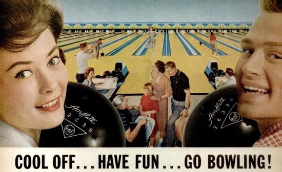 The Allee Willis Museum of Kitsch » Vintage Bowling Post Card (a ...