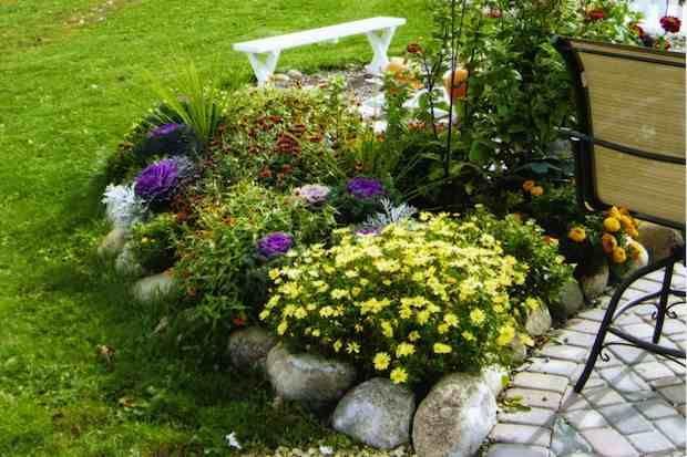 Pin su giardino for Abbellire giardino