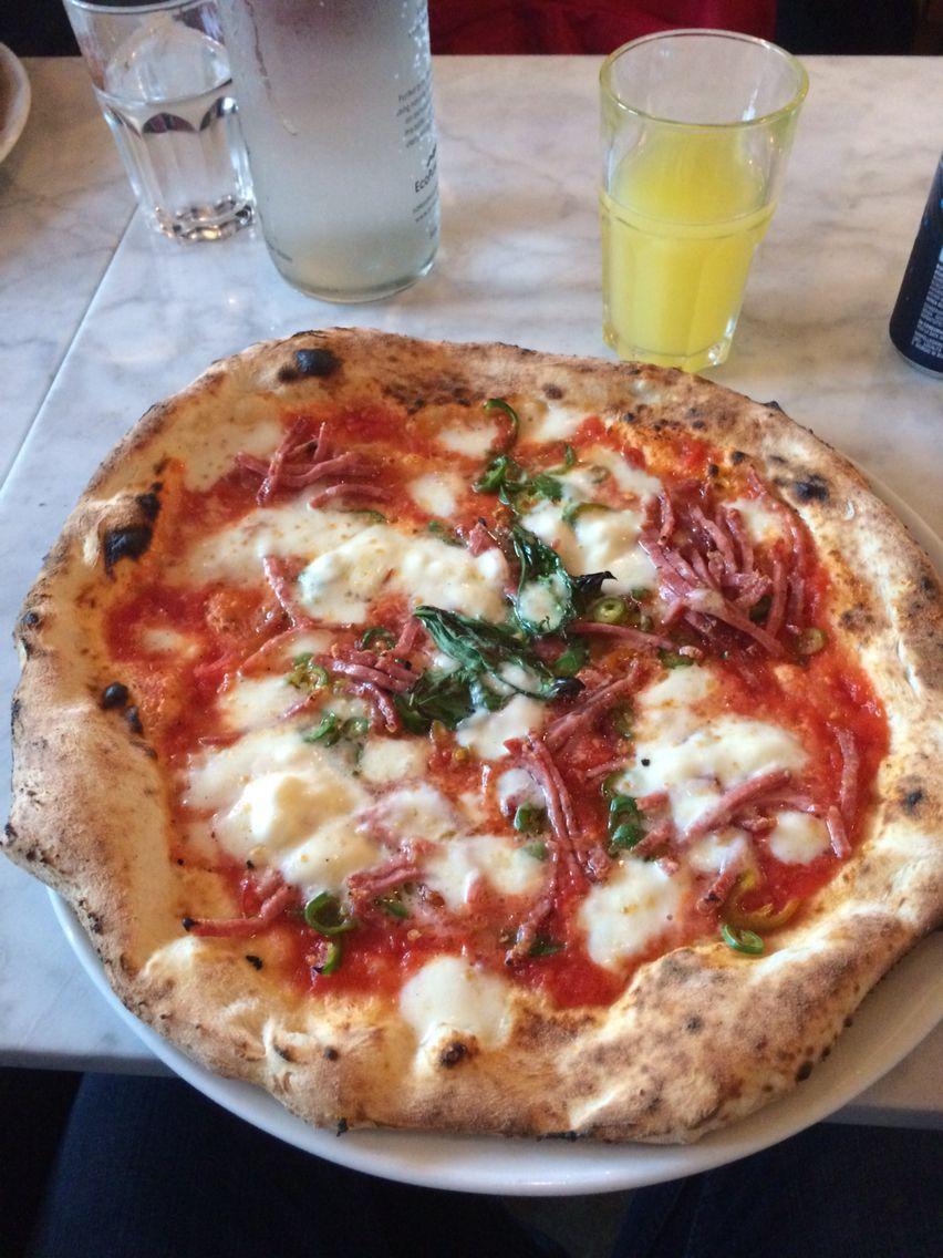 Santa Maria Chiswick London best Pizza so far
