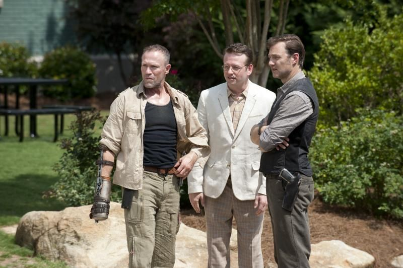 Exclusive: Dallas Roberts Talks Zombie Cures, The Governor, and 'The Walking Dead's Midseason Finale | Interview by Scott Neumyer