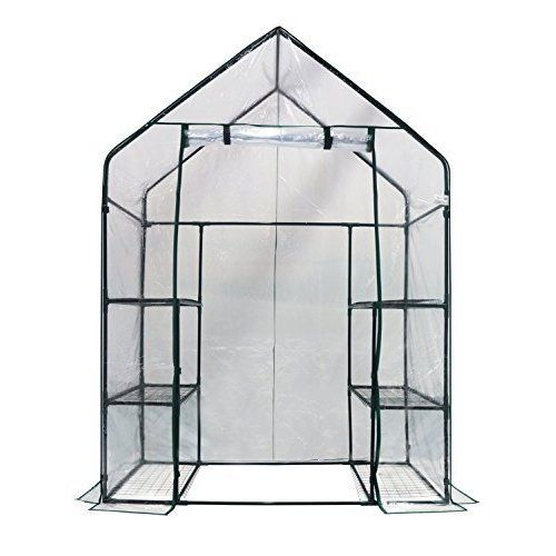 Zenport SH3212A+BTP Garden Raised Bed and Cold Frame Greenhouse ...