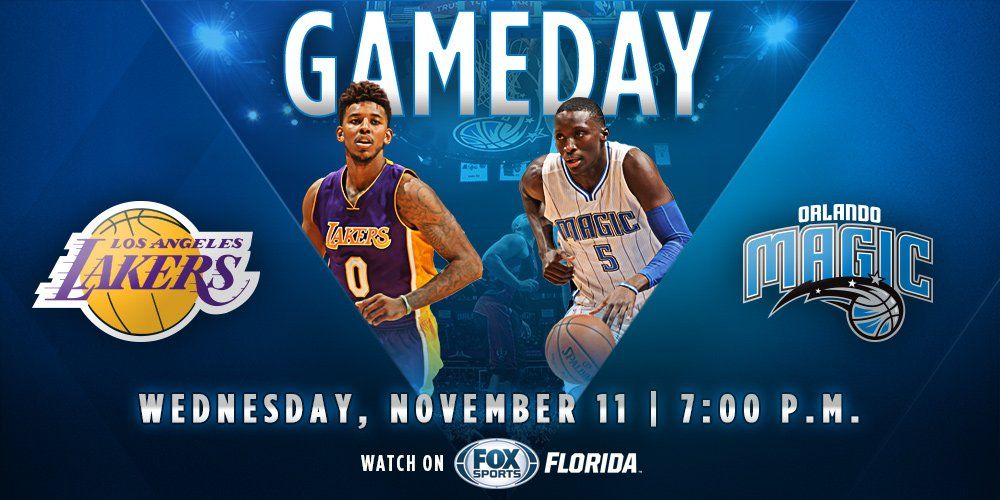 Orlando Magic on Twitter Orlando magic, Gameday sports