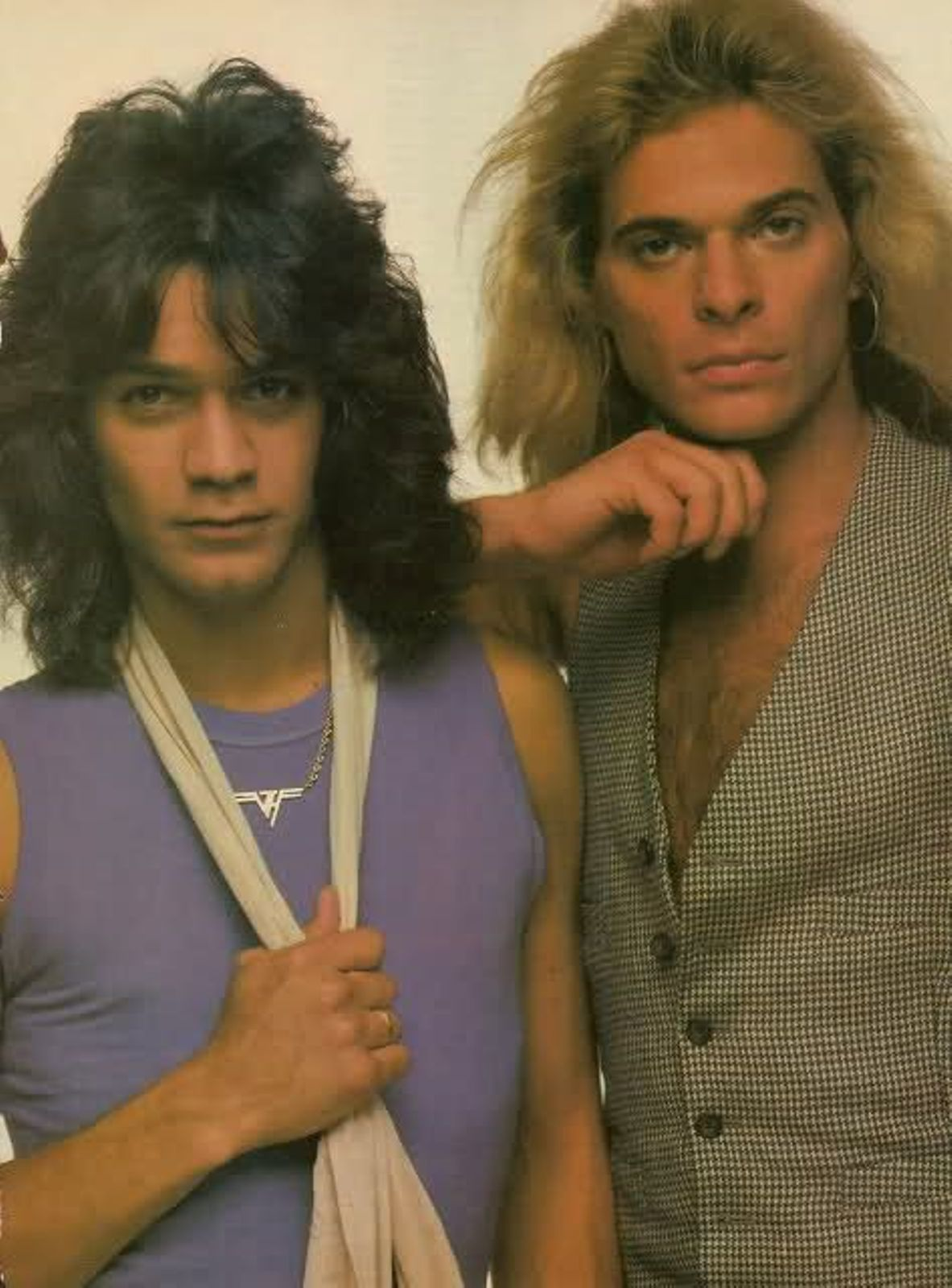 Edward Vh And David Lee Roth Estrelas Do Rock Zakk Wilde Musica
