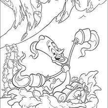 Lumiere The Candelabra Coloring Page Disney Coloring Pages