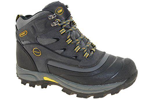 Khombu Men's Flume 2 Hiking Boots - Grey (9) Visit the image link more