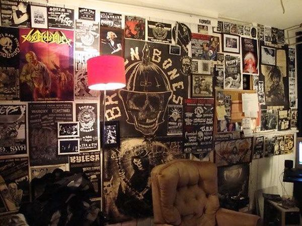 20 Punk Rock Bedroom Ideas - Fox Home Design