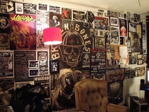 20 Punk Rock Bedroom Ideas   Fox Home Design. 17 Best ideas about Punk Bedroom on Pinterest   Punk room  Punk