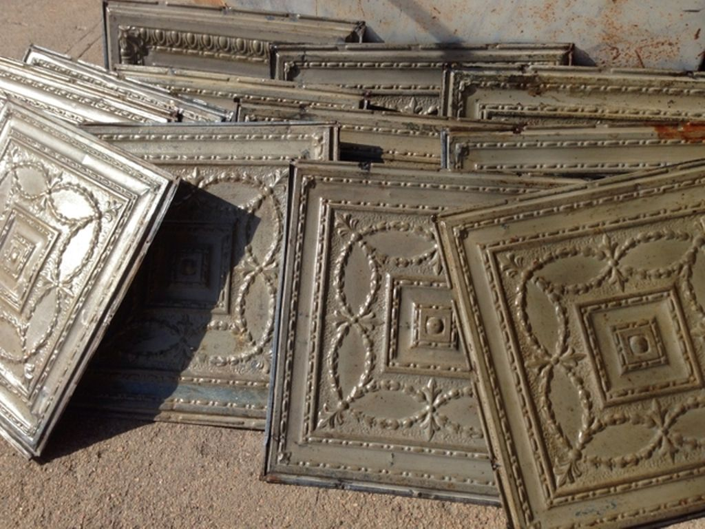 Reclaimed tin ceiling tiles image collections tile flooring ceramic porcelain tile that looks like decorative pressed tin ceramic porcelain tile that looks like decorative dailygadgetfo Choice Image