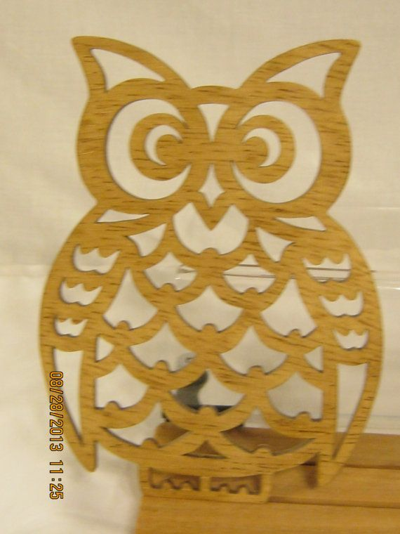 owl scroll saw plaque by mikeswoodworking on etsy   8 00
