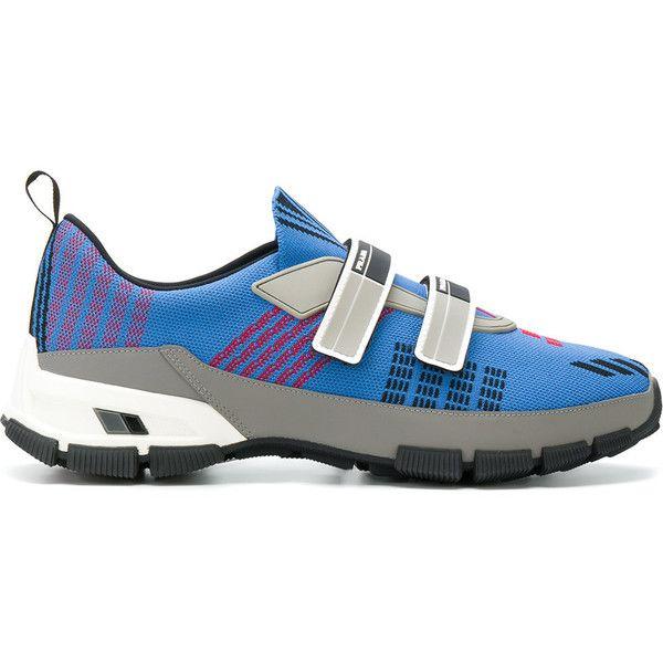 Salida Proveedor Más Grande Comprar Alta Calidad Barata Prada color block sneakers - Blu Nueva Limitada La Venta De La Más Barata PRDS9e8ve