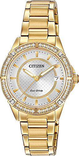 Drive From Citizen Eco-Drive Women s Quartz Stainless Steel Casual Watch f8deceefe