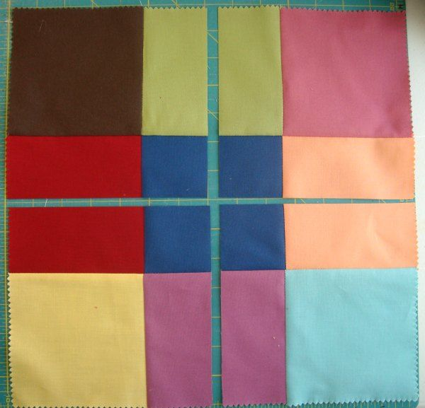 Dissappearing 9 patch tutorial and layout   patchwork posse
