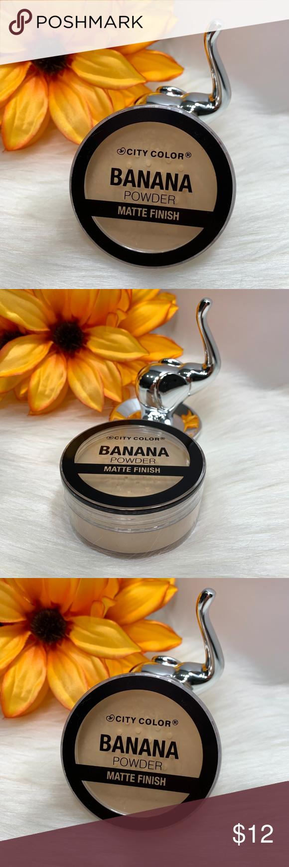 City Color Banana Powder Matte Finish 0.409 oz • Apply