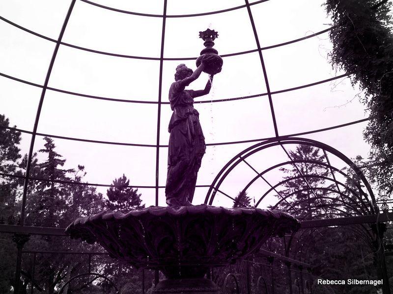 Angel fountain munsinger gardens st cloud mn saint
